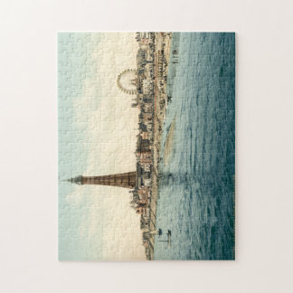 From Central Pier, Blackpool, England Jigsaw Puzzle
