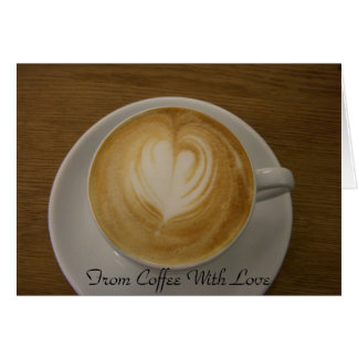 From Coffee With Love - Invitation for Coffee
