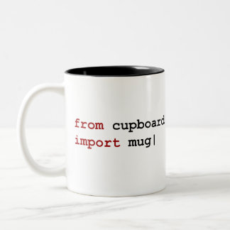 From cupboard import mug - Python