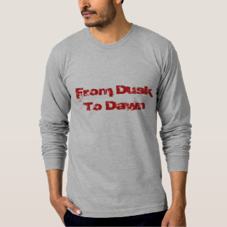 From Dusk To Dawn Skin Tight Long Sleeve Shirt