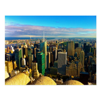 From Empire State Building Postcard
