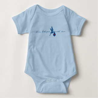 From Ethiopia with Love - Blue Baby Bodysuit