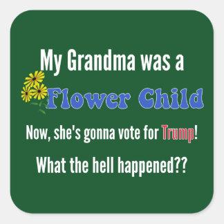 From Flower Child To Trump Sticker