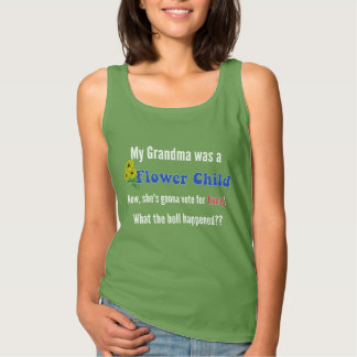 From Flower Child To Trump Tank Top