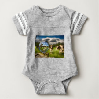 From Grass To Glass Baby Bodysuit