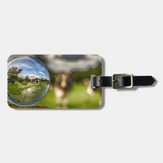 From Grass To Glass Bag Tag