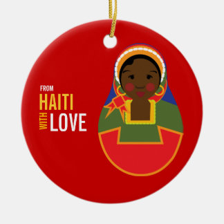 From Haiti With Love Adoption Keepsake Ceramic Ornament
