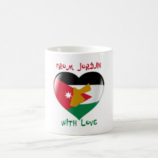 From Jordan With Love Flag Mug