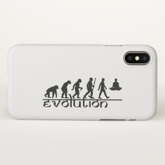 From monkey to yogi iPhone x case