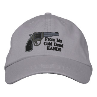 From My Cold Dead Hands Second Amendment Embroidered Hats