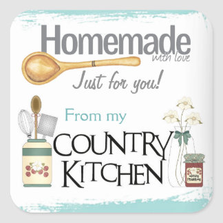 From My Country Kitchen Stickers
