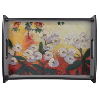 """""""From My Garden"""" Serving Tray"""