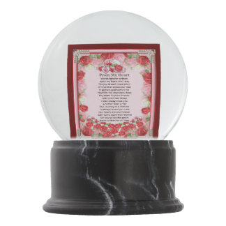 From My Heart Snow Globes