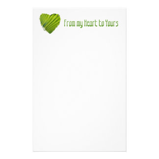 From my Heart to Yours Personalized Stationery