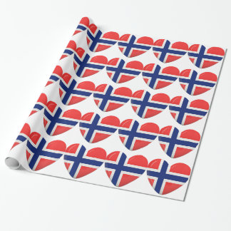 From Norway With Love Wrapping Paper