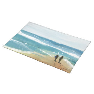 From Ocean With Love Placed Mat