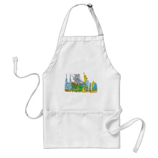 From Old To New York Standard Apron