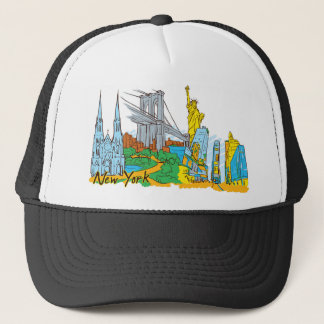 From Old To New York Trucker Hat