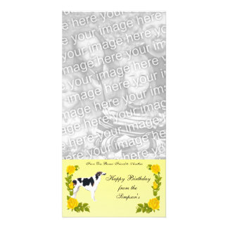 From One Borzoi Friend to Another Photo Greeting Card
