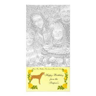 From One Redbone Coonhound Friend to Another Photo Greeting Card