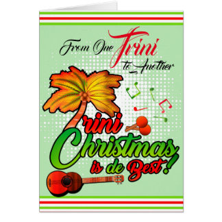 From One Trini to Another - Christmas Card