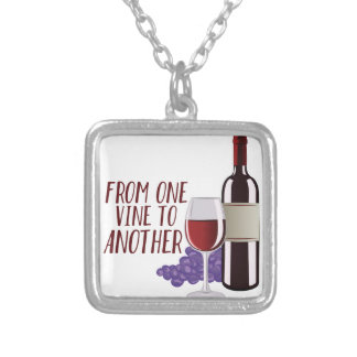 From One Vine Silver Plated Necklace