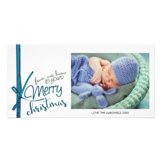 From Our Home To Yours Merry Christmas Photo Card
