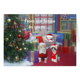 From Our House to Yours! Greeting Card