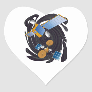 FROM OUTER WORLDS HEART STICKER