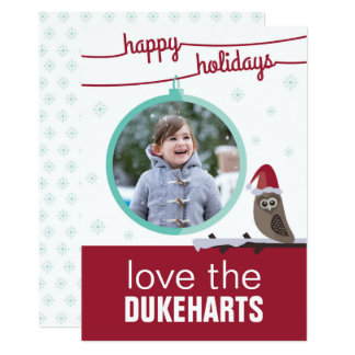 From Owl Family to Yours. Holiday Card. Card