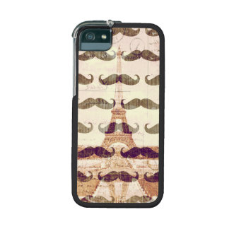 From Paris with mustache iPhone 5 Covers