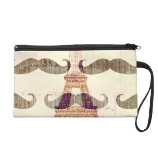 From Paris with mustache Wristlets