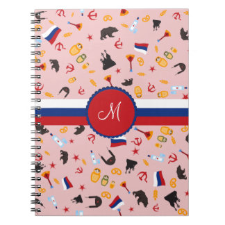 From Russia With Love- Russian Monogram Notebooks