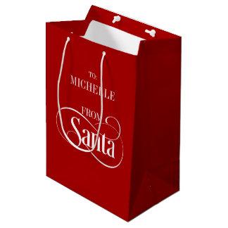 From Santa Claus Christmas Holiday Gift Bag