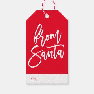 From Santa Holiday Gift Tags