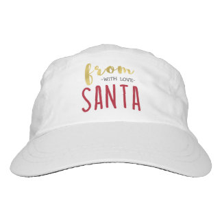 From Santa with Love | Cute Typography Hat