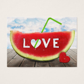 from summer with love business card