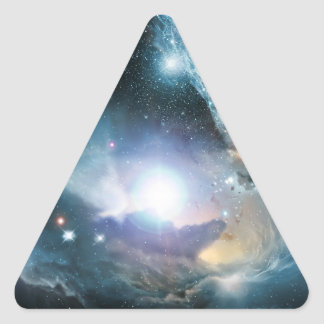 From the Ashes of the First Stars Triangle Stickers