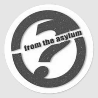 From the Asylum (Small) Logo Stickers