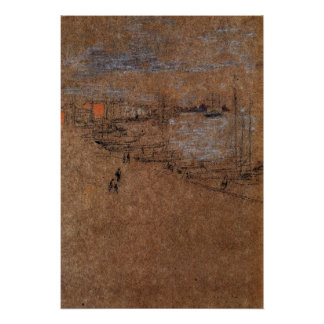 From the Cafe Orientale by Whistler Poster