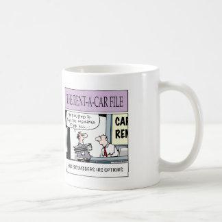 from the Car Rental company Coffee Mug