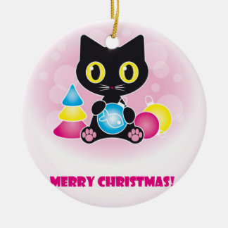From the Cat Christmas Ornaments