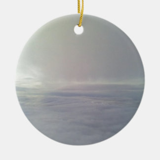 From the cloud round ceramic decoration