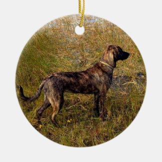 From the Dog Custom Ornament