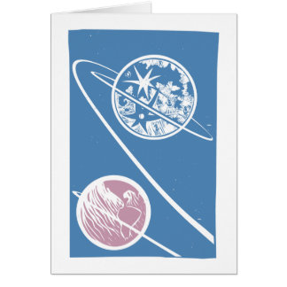 From the Earth to the Moon Card