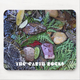 from the forest floor art mouse pad