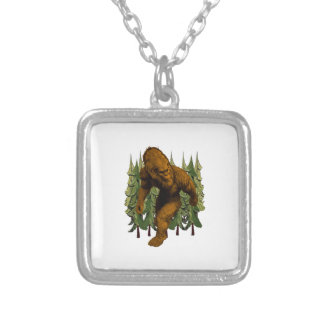 FROM THE FOREST SILVER PLATED NECKLACE