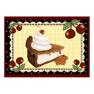 From the Kitchen Card - Pie / Cheesecake - SRF Pack Of Chubby Business Cards