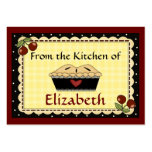 """""""From The Kitchen Of"""" Cards by SRF Business Card Template"""
