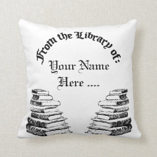 From the Library of Custom Reading Pillow